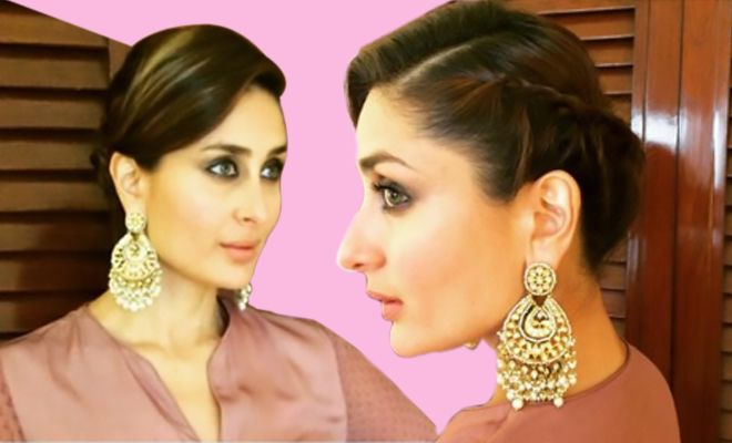 Image Result For Kareena Kapoor In Braid Gorgeous Hair Hair Styles Braided Hairdo