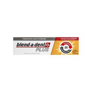 Blend A Dent Plus Dual Power Premium Denture Adhesive Cream 40g 1 4 Oz Peppery Spot Denture Adhesive Denture Dental Health