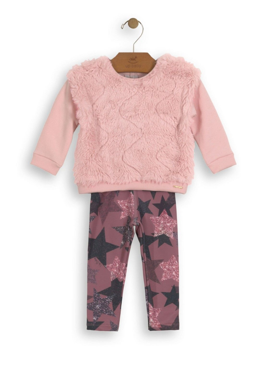 Hello Kitty Casaco Pelo Infantil Rosa Hello Kitty
