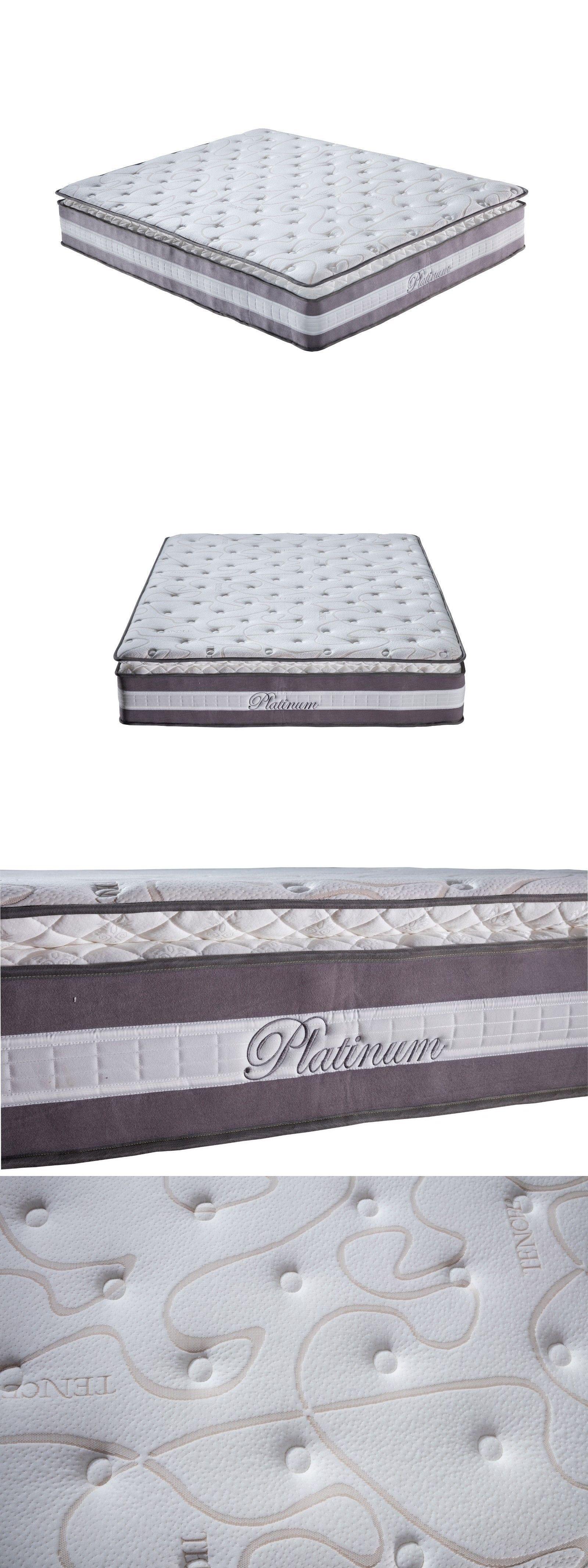 bedding high density 13 plush pillow top hybrid memory foam and spring mattress queen