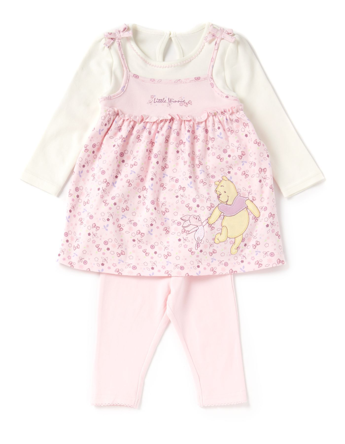 Winnie the Pooh Baby Dress and Leggings George at ASDA