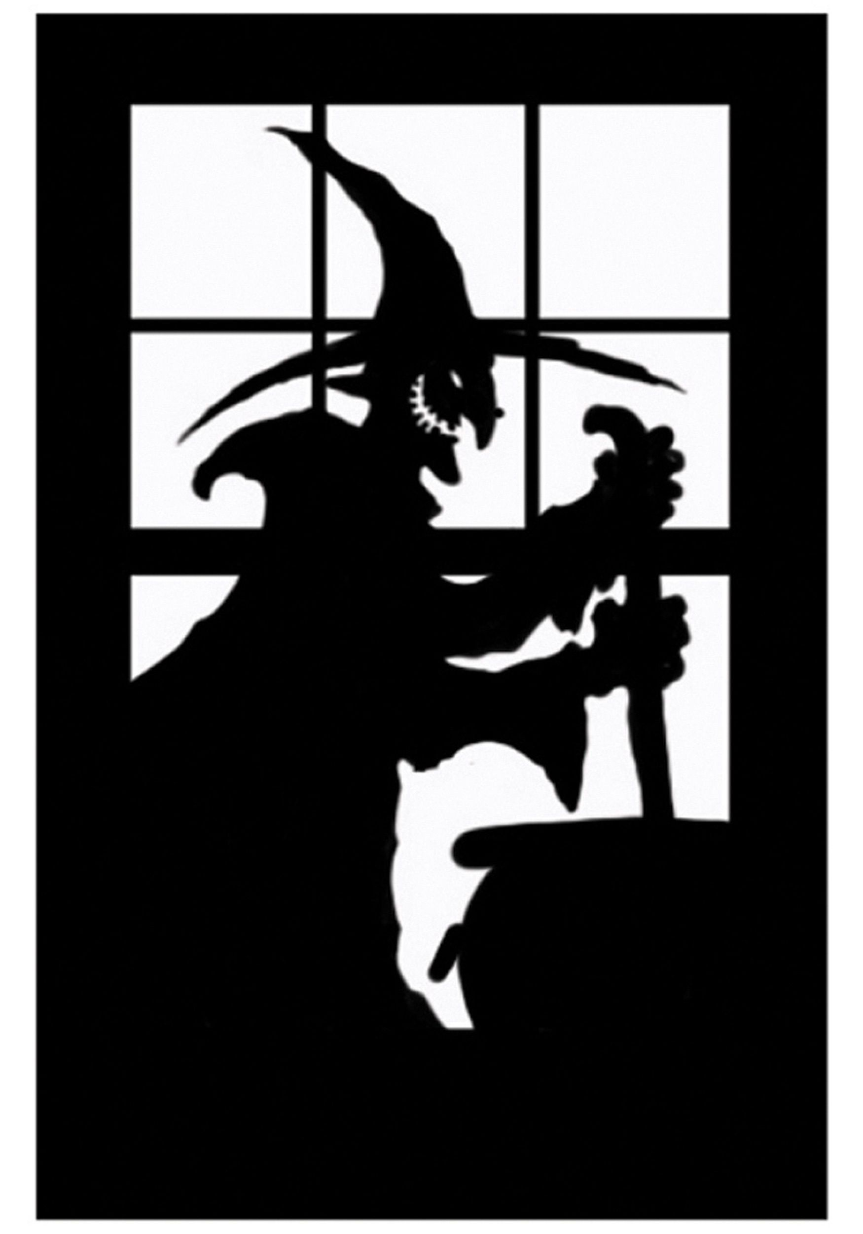window halloween google decorations decor pin movie pinterest silhouette search
