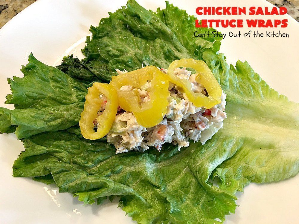 Salad Lettuce Wraps Cant Stay Out of the Kitchen, Ranch Chicken Salad Wrap Spend With Pennies, sala