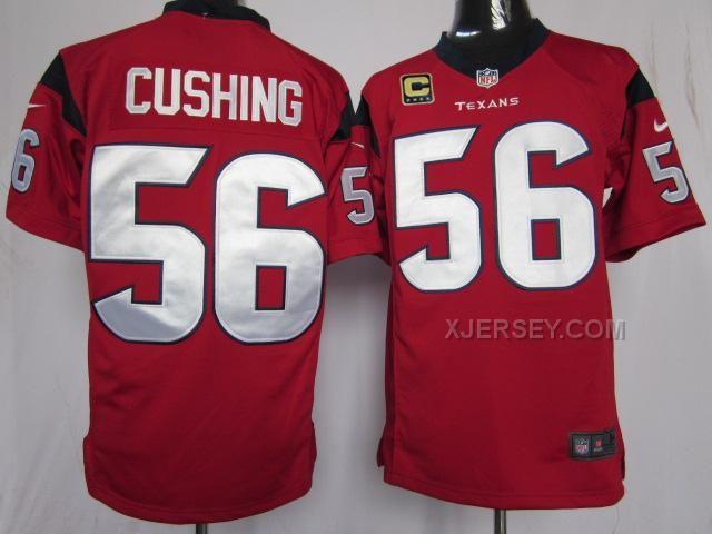 http://www.xjersey.com/nike-texans-56-cushing-red-game-c-patch-jerseys.html Only$36.00 #NIKE TEXANS 56 CUSHING RED GAME C PATCH JERSEYS Free Shipping!