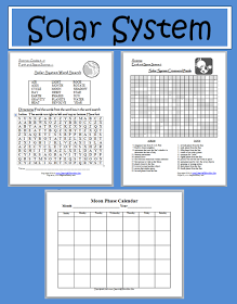 solar system vocabulary 6th grade