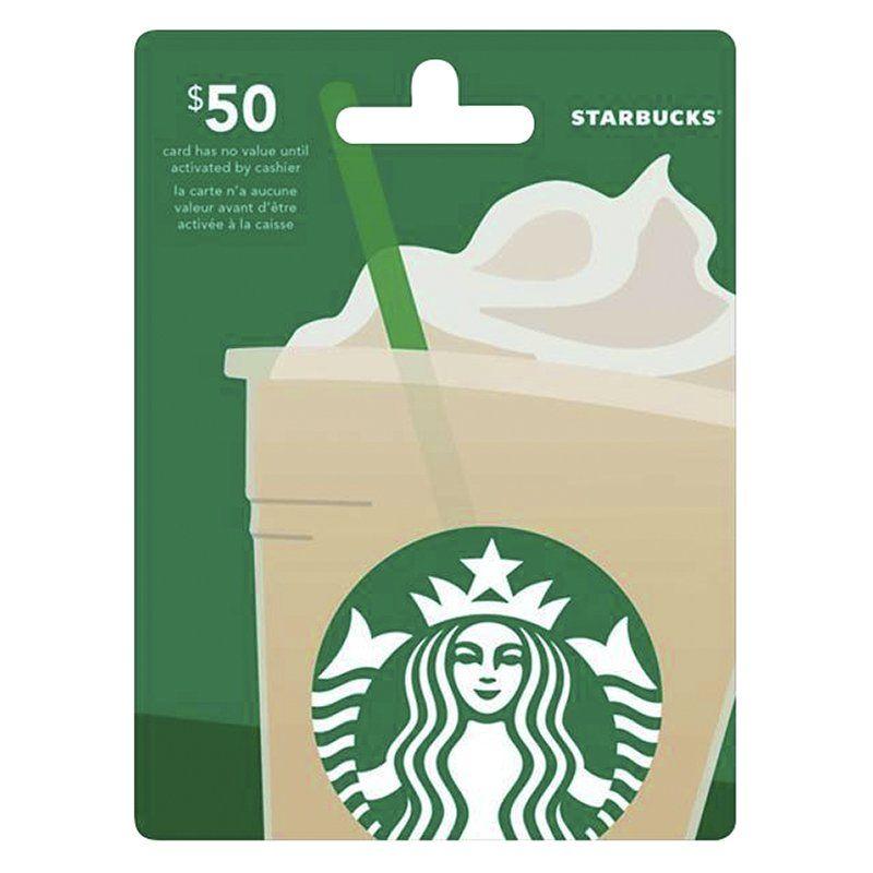 5 dollar gift cards starbucks