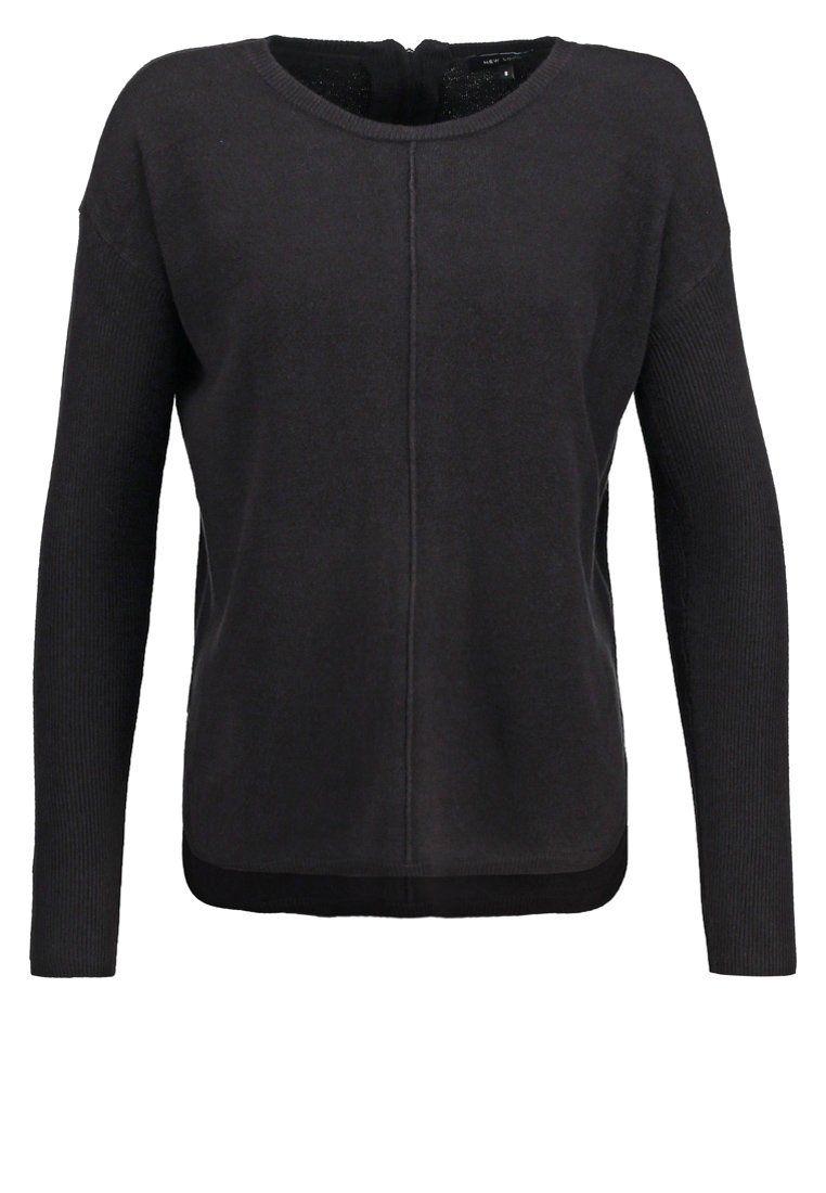 New Look Strickpullover - black - Zalando.de