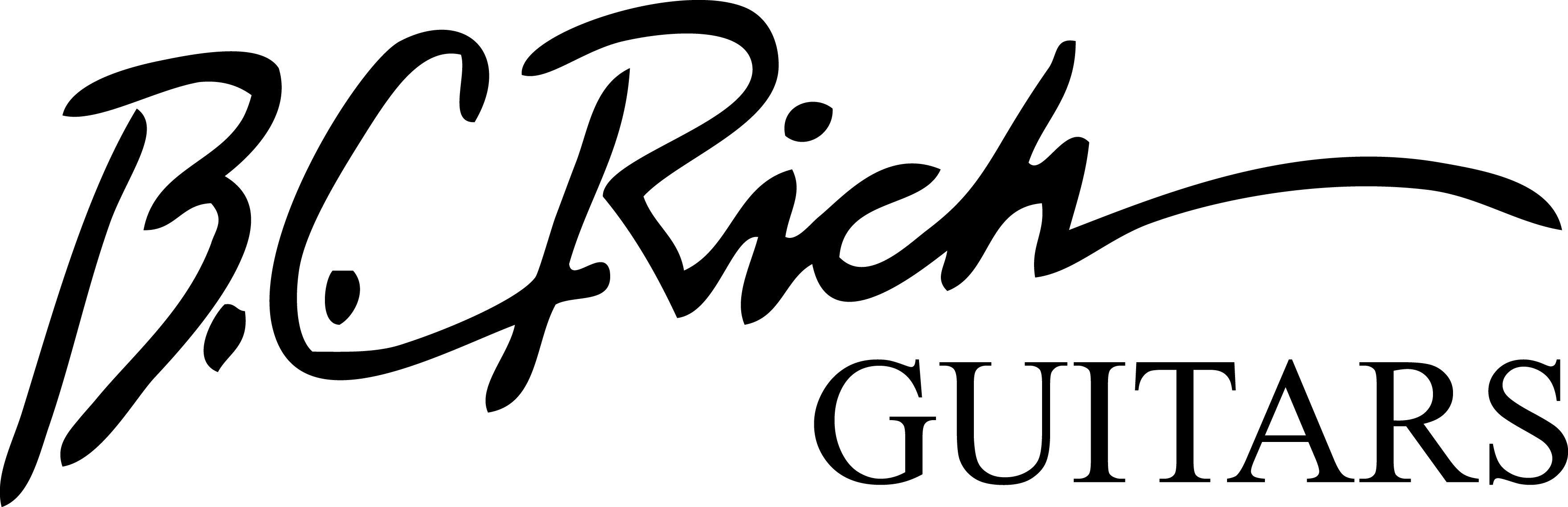 Bc Rich Acoustic Music Gear Logo Cute Drawings