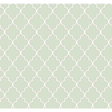 Rasch Papier Tapete WAVERLY Cottage 326214 Buzzing mint silber - fliesen tapete küche