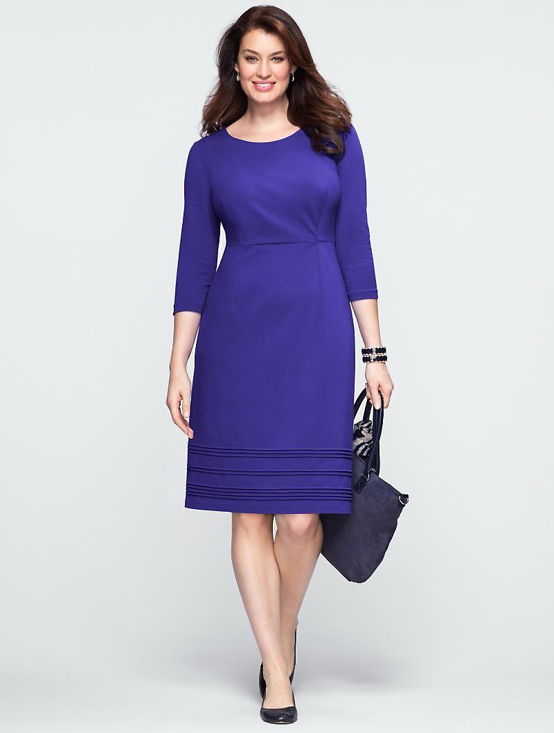 Talbots - Refined Ponte Dress   Style Stitchfix   Pinterest