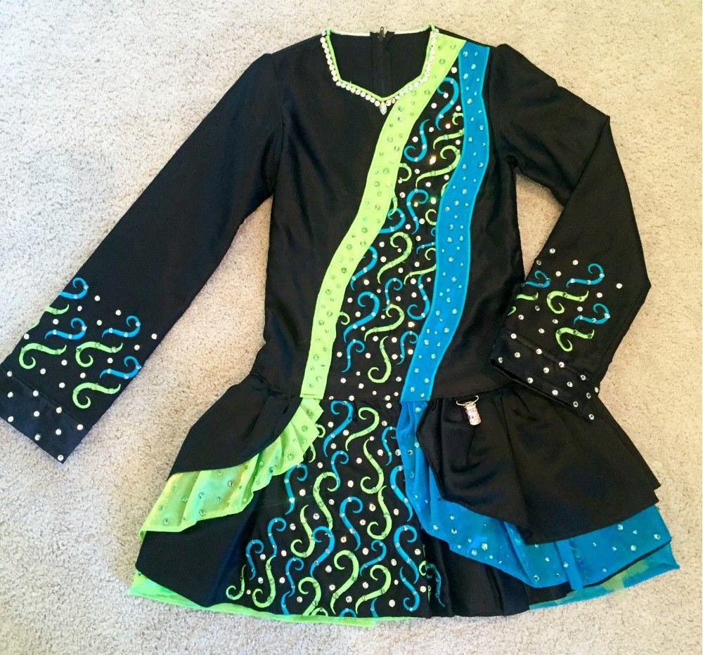 Great st dress for noviceprizewinner irish dance dresses irish