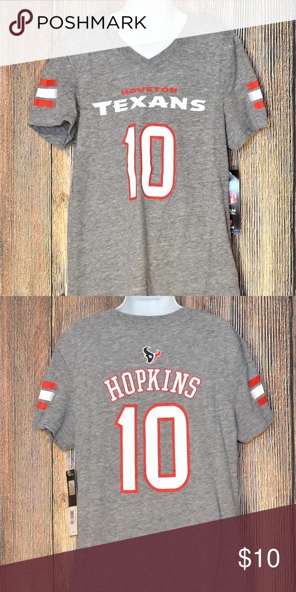 735446e01 Houston Texans  10 Hopkins T-Shirt New With Tags Houston Texans  10 DeAndre