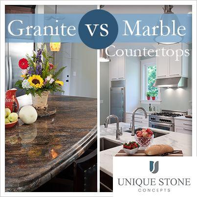 Comparing Granite Vs Marble