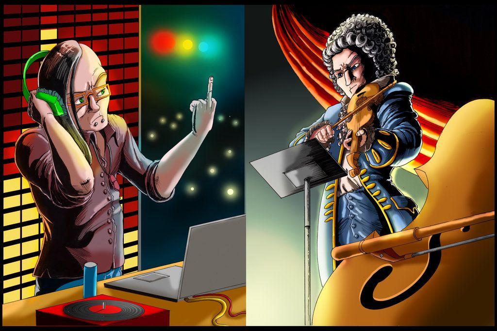 Skrillex Vs Mozart