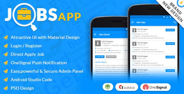 Android Jobs App (Job Seeker, Job Provider, Naukri, Shine
