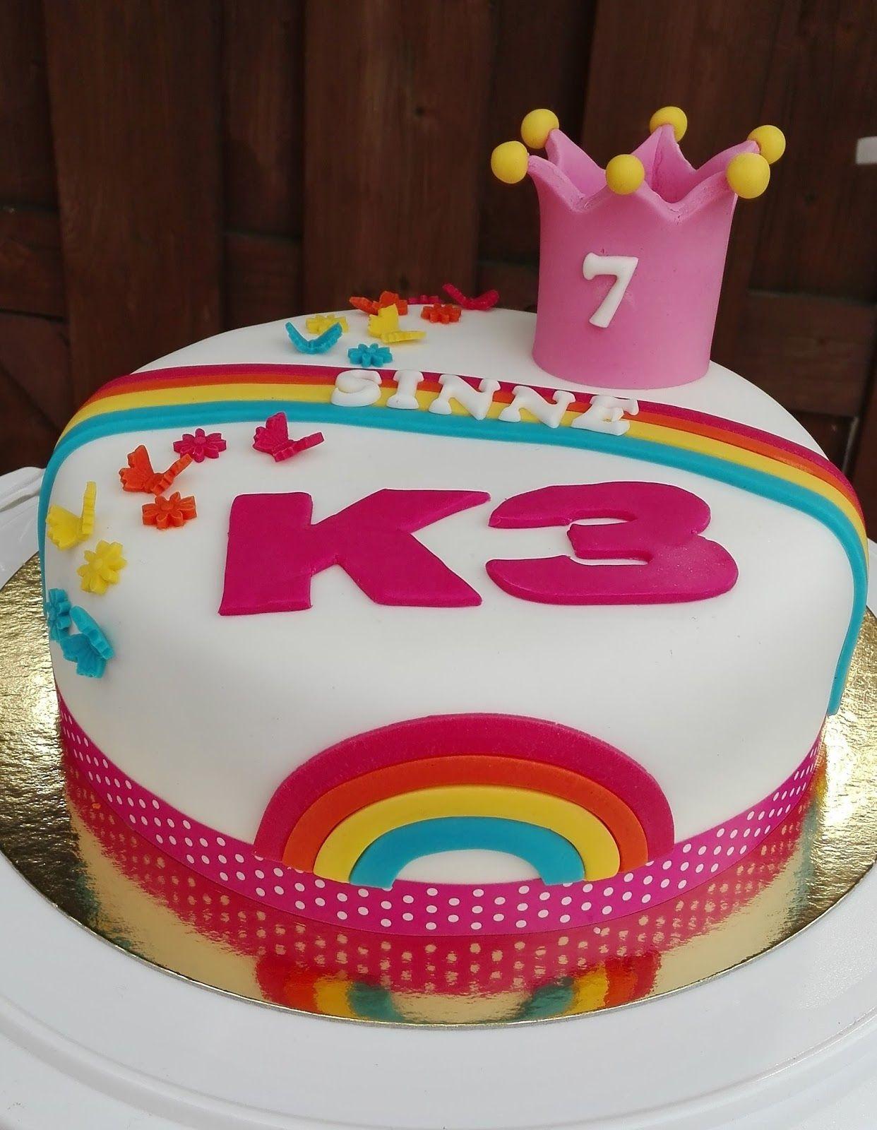 afbeeldingsresultaat voor k3 taart   oona - birthday cake, cake en