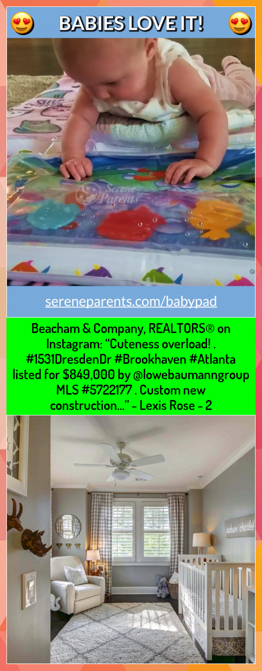 Beacham  Company REALTORS on Instagram Cuteness overload  listed for 849000 by lowebaumanngroup MLS  Custom new construction  Lexis Rose  2