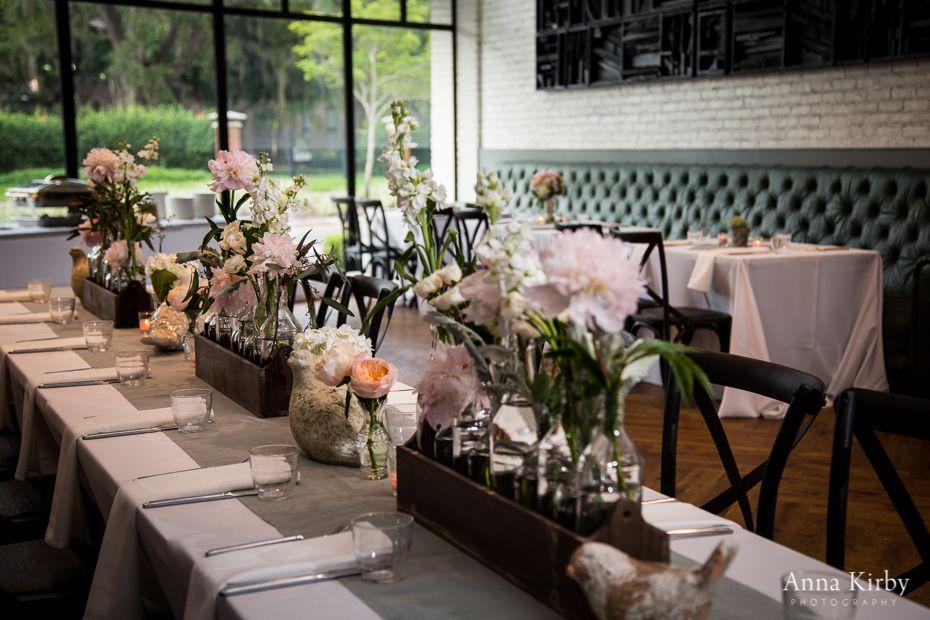 Wedding Ceremony Hyde Park United Methodist Church Reception Venue And Catering Oxford Exchange Floral Design Botanica International Decor