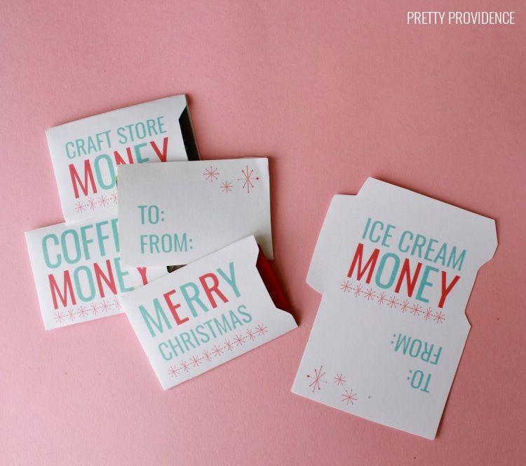 Christmas Gift Card Sleeves Free Printable Printable Gift Cards Gift Card Template Printable Christmas Gift Card