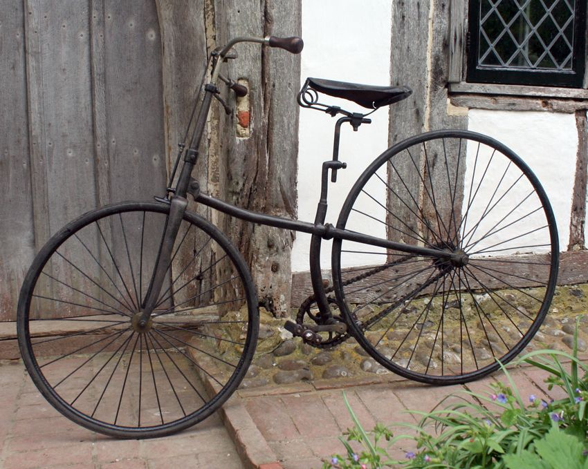1886 Pausey Pioneer Cross Frame Safety The Online Museum For Premier Cycle Co And Cross Frame Bicycles Antique Bicycles Vintage Bikes Old Bikes