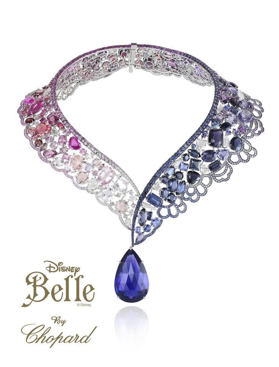 Bella: Luce Este Collar Con Una Tanzanita Talla Pera De 69 Quilates,  Zafiros Azules