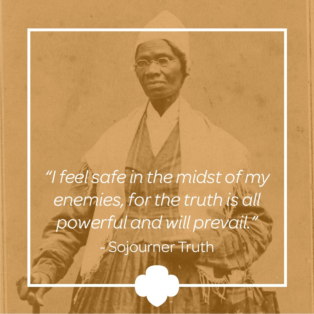 Sojourner Truth Quotes Gorgeous Emancipated Slave Sojourner Truth Became A Famous Abolitionist And
