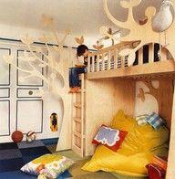 #cabane, jardin, décoration, chambre, enfant