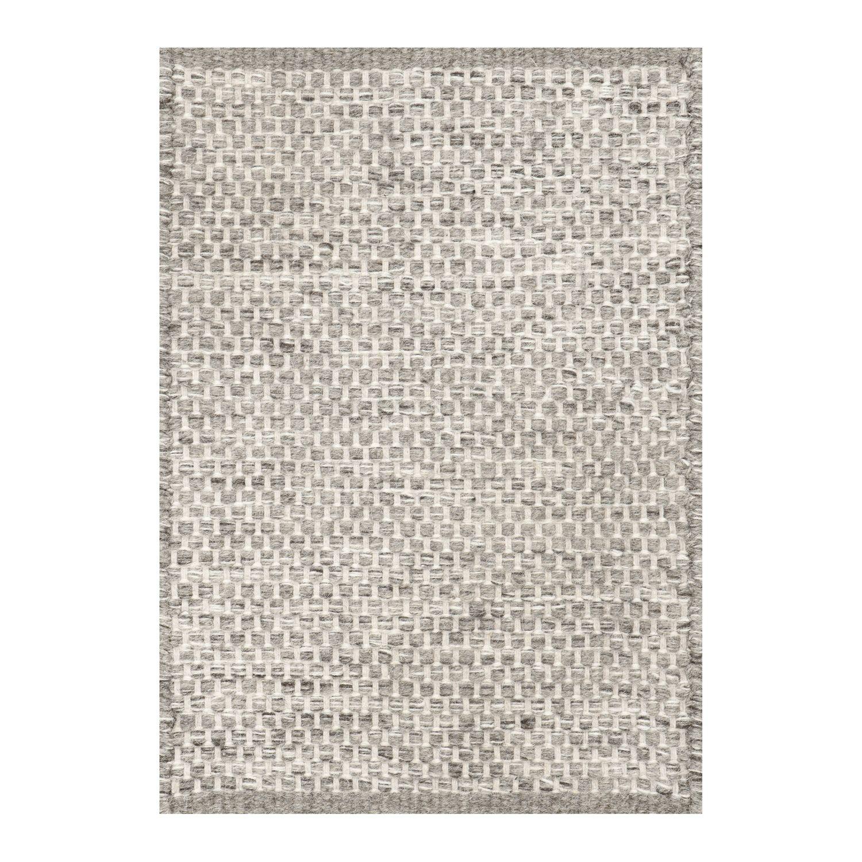 Heal S Asko Light Grey Natural Wool Rug Rugs Living Room