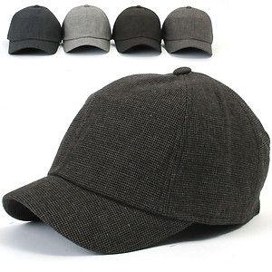 be956fd02c35b9 ililily New Mens Cotton Hat Short Bill Ballcap Unisex Riding Cap c561 | eBay