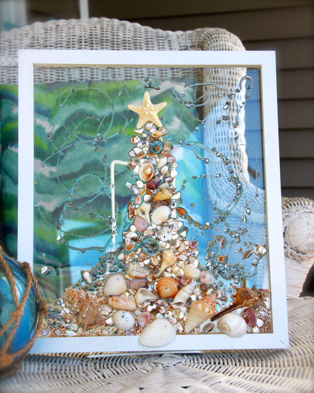 beach christmas wall decor