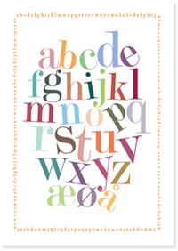 Printable Alphabet Free I Lonnies Dk Blog Bogstaver Plakater Og Skrivning