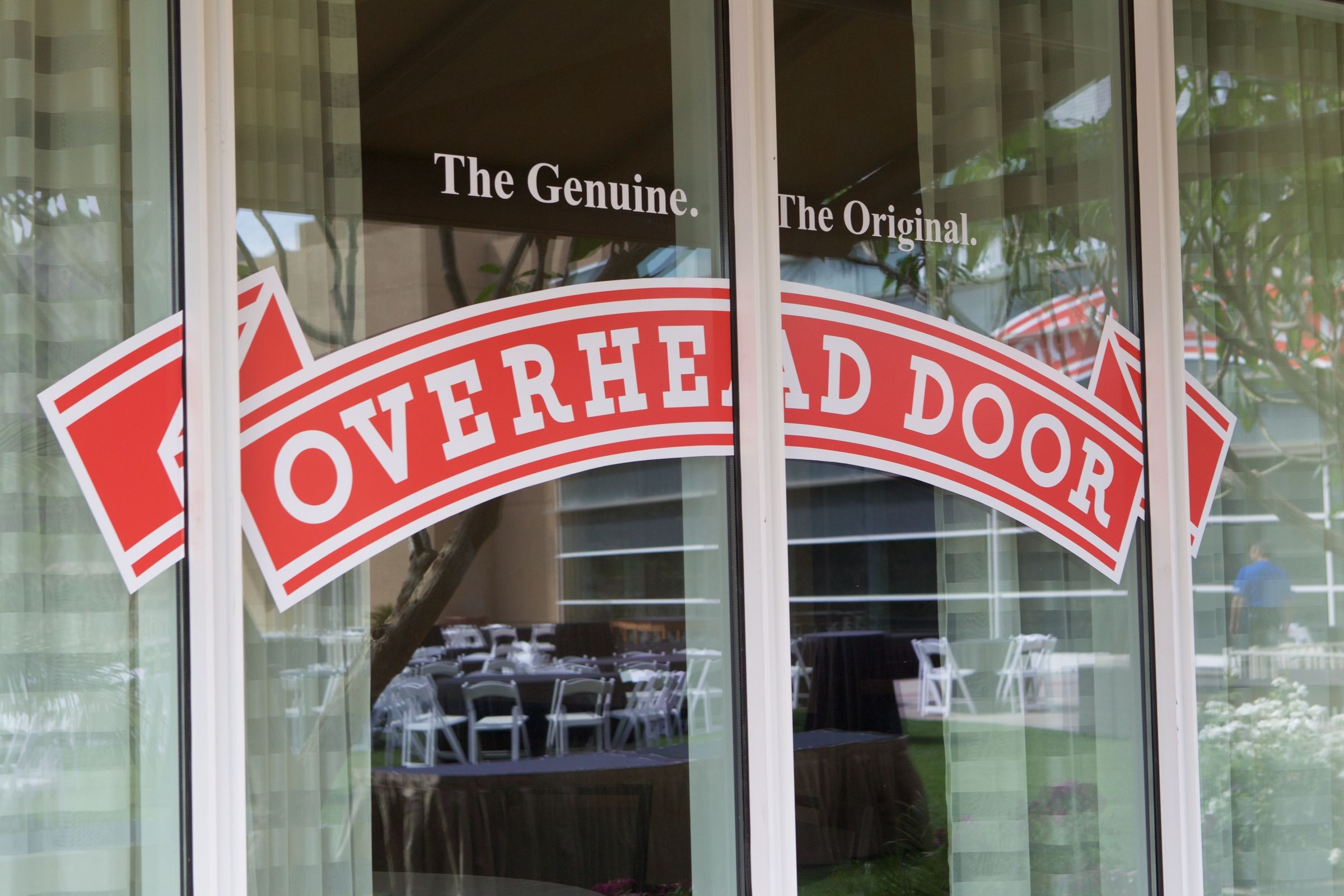 Overhead Door Logo In Palm Springs California Overhead Door Took