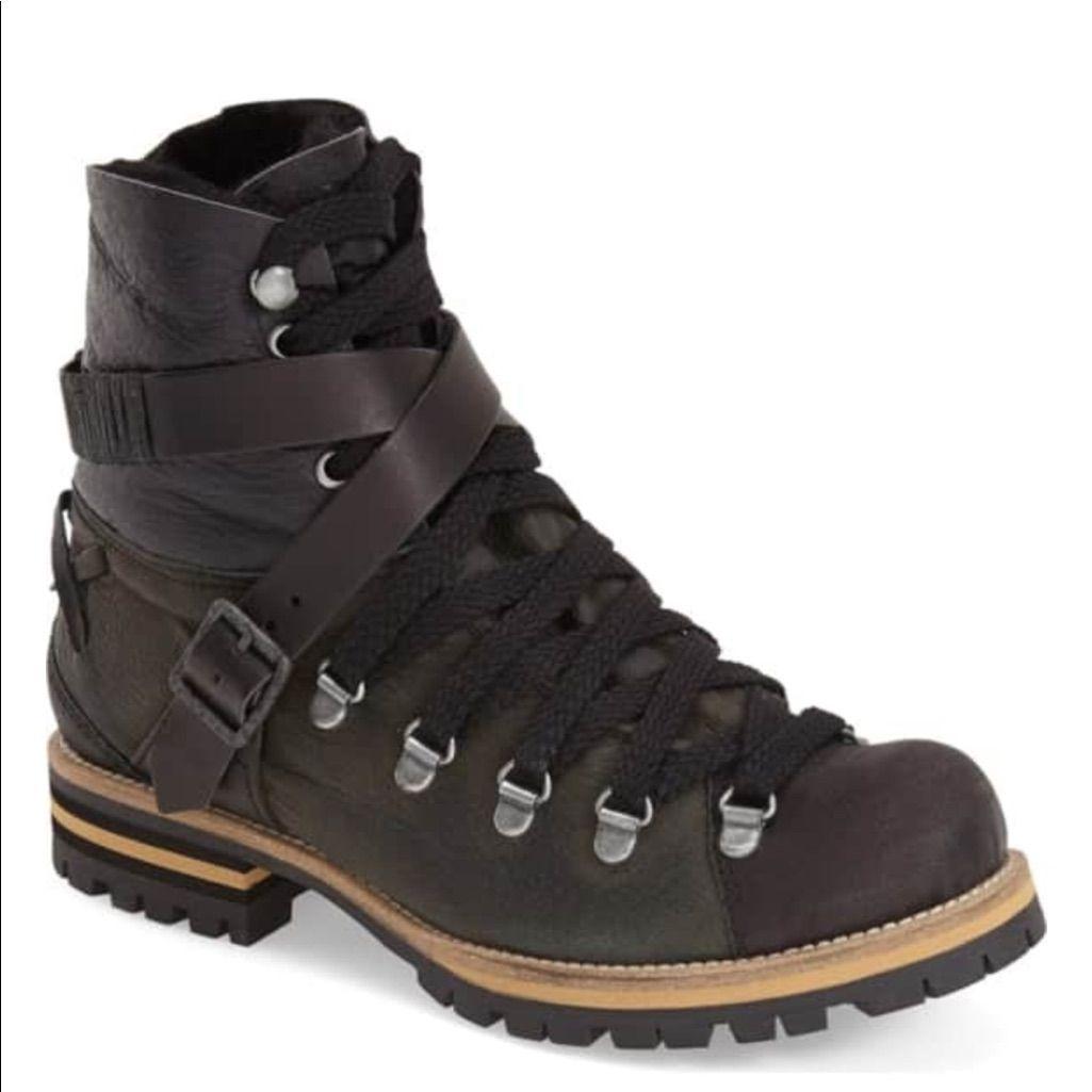 Free People Shoes 'Breakwater' Hiking Boot Wgenuine Goat
