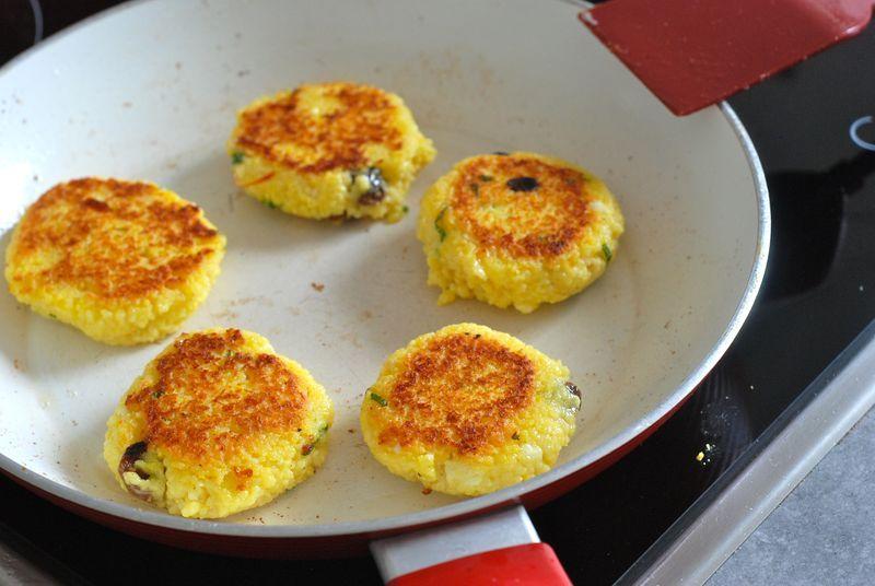 Yotam Ottolenghi's Crisp Couscous and Saffron Cakes - The Wednesday Chef - MasterCook