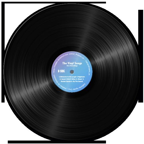 Vinyl Record Wallpaper Ponsel
