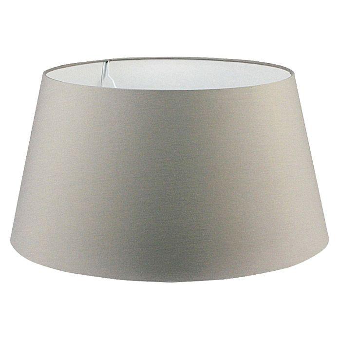 Popular Lightmakers Lampenschirm Mira Drum Grau Durchmesser cm