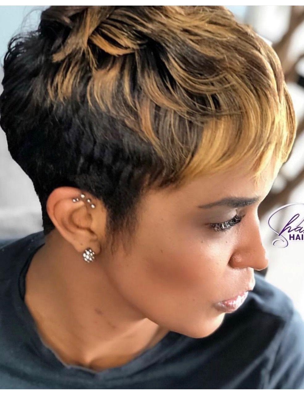 Pin on Black hair short cuts
