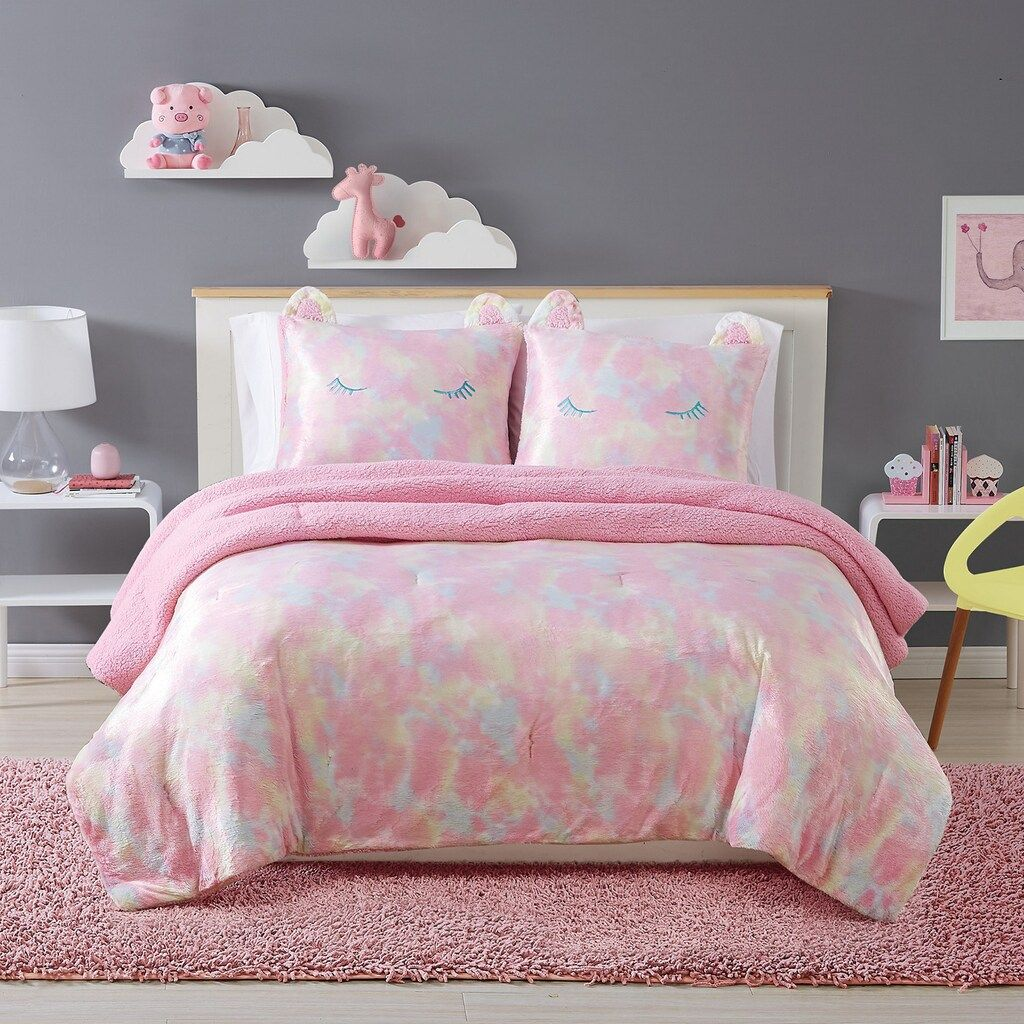 My World Kids Rainbow Sweetie Comforter Set In 2021 Comforter Sets Girls Comforter Sets Girl Comforters