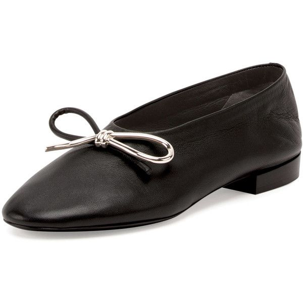 Balenciaga Leather Round-Toe Flats sale with paypal discount really for cheap discount online cheap authentic FwWwzrVsHY