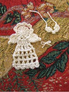 BellaCrochet: Christmas Angel, a free pattern for you