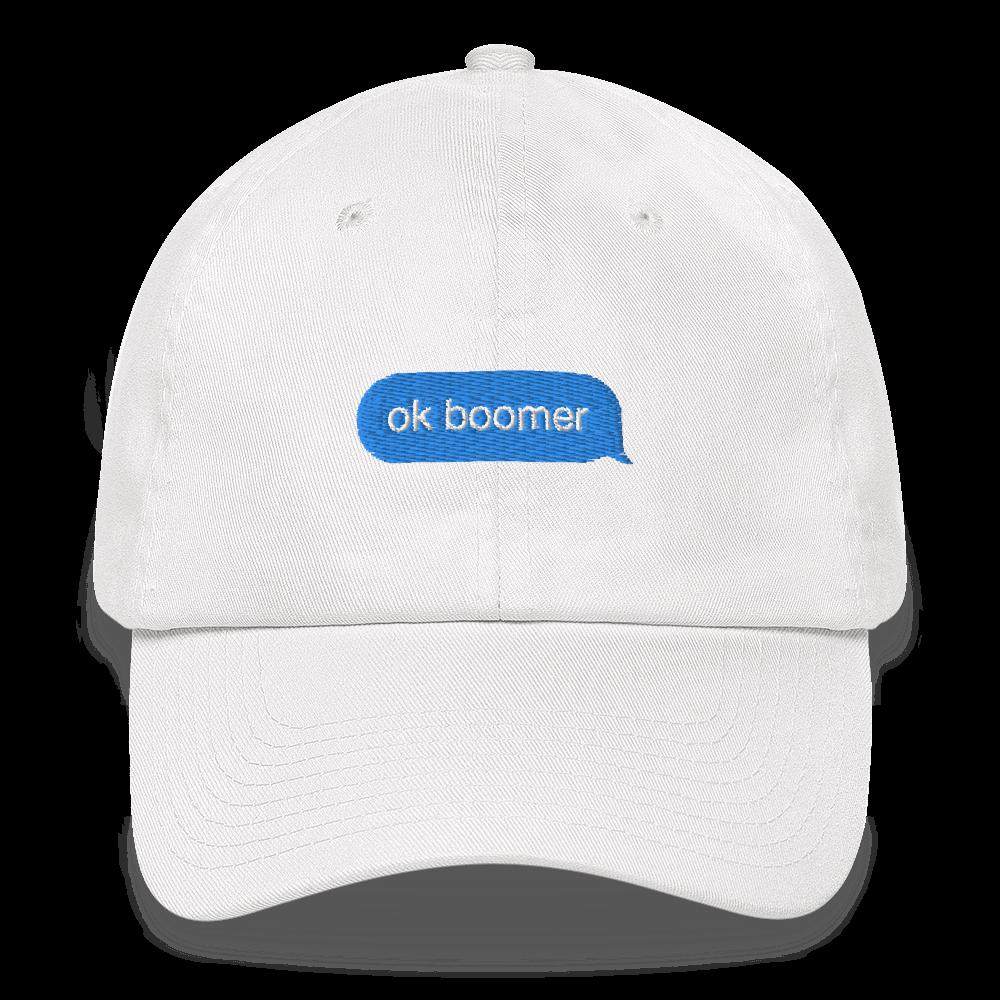 Ok Boomer Strapback Dad Hat Ok Boomer Dad Hats Dads