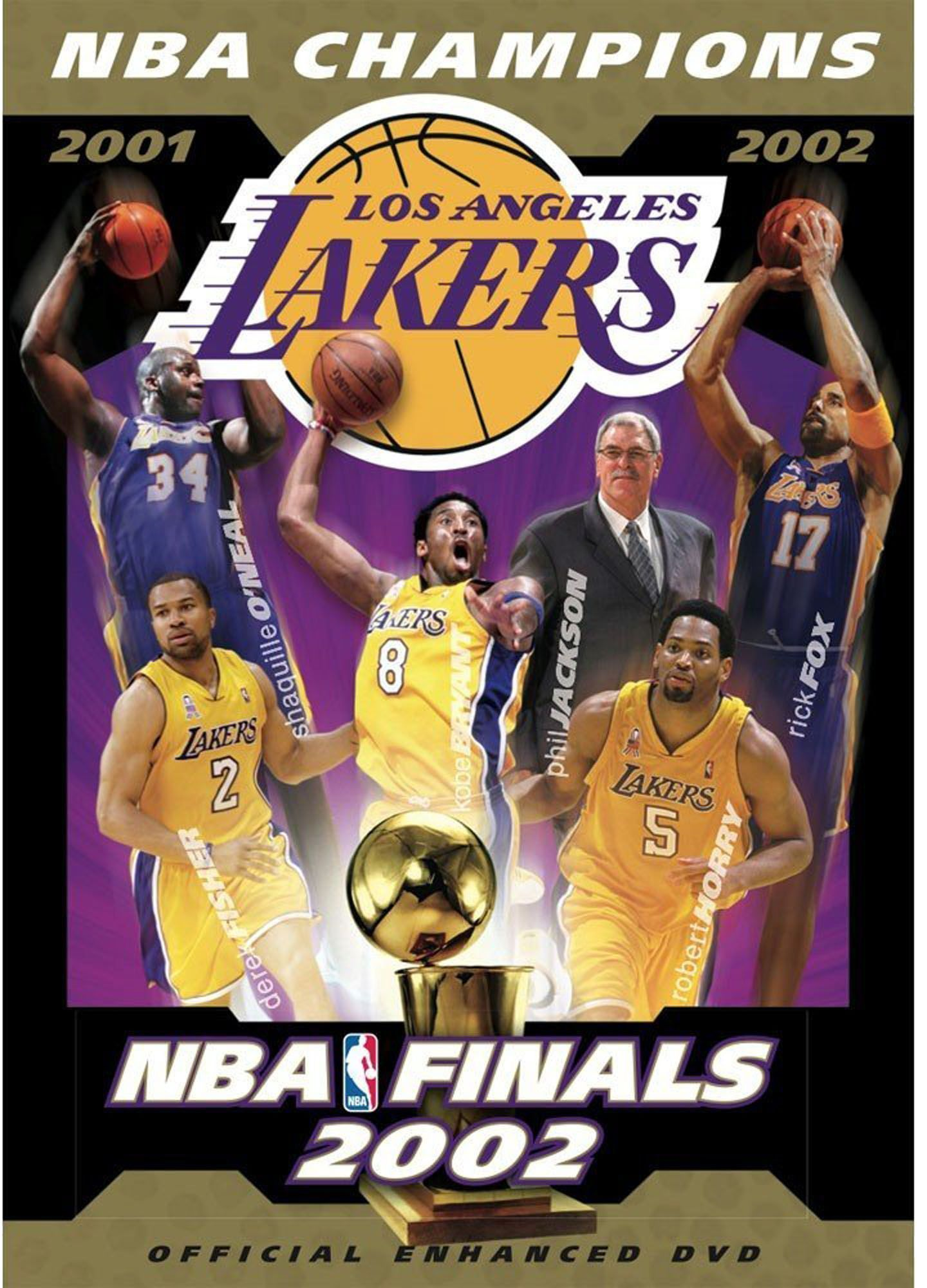 Nba Champions 2002 Los Angeles Lakers Dvd In 2020 Nba Champions Los Angeles Lakers Lakers