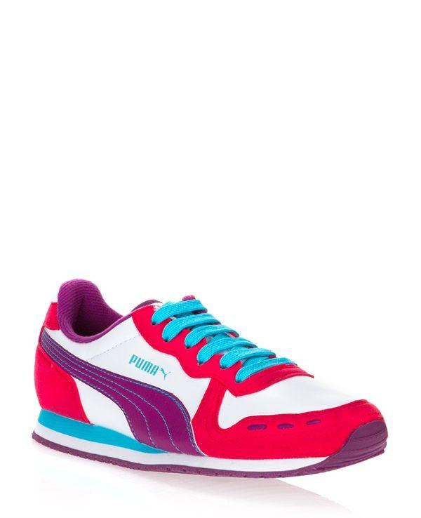 Puma Fusya Bayan Spor Ayakkabi Ayakkabilar Moda Spor