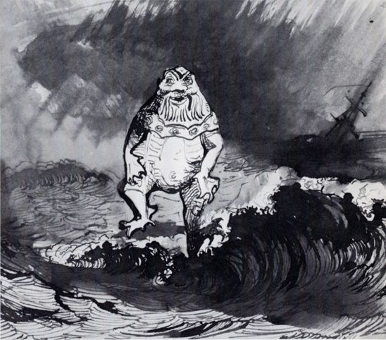 The Drawings Of Victor Hugo Not The Talent He Was Known For But A Talent He Had Nonetheless Awesome Victor Hugo Victor Hugo Art Drawings