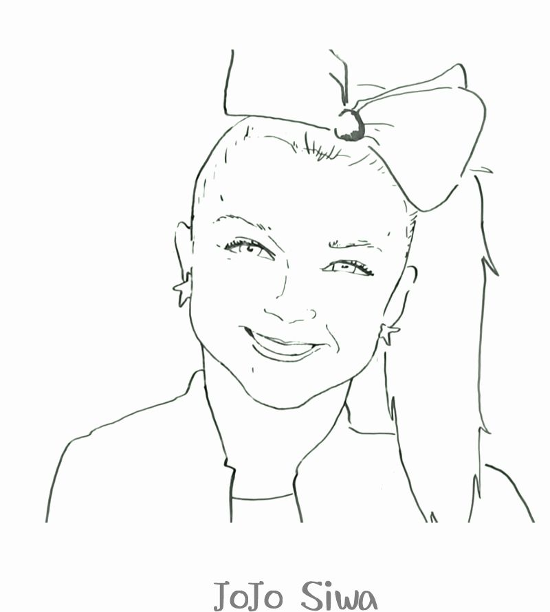 Jojo Siwa Coloring Page Best Of Free Printable Jojo Siwa Coloring Pages