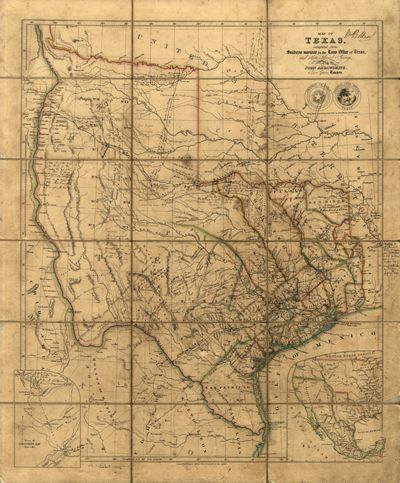 Texas map 1841 usa america state antique historical map texas map 1841 usa america state antique historical map royalty gumiabroncs Image collections