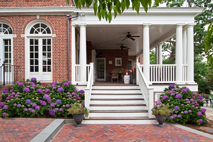 Side Entrance Porch Design With Images