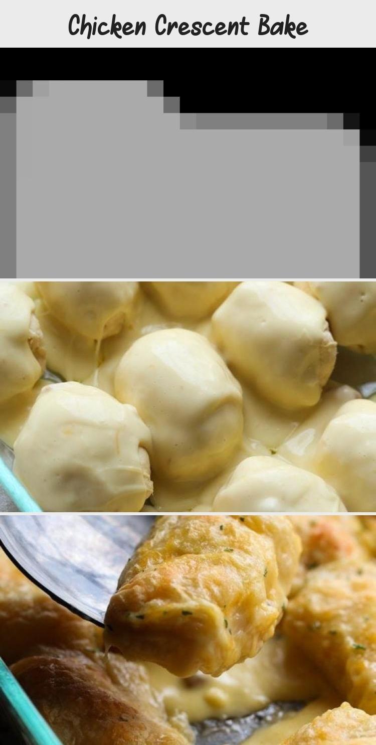 Cheesy chicken crescent bake Tempting dinner recipes