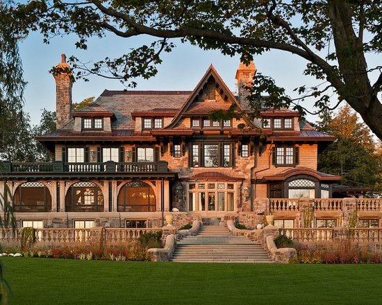Modern Day Craftsman Manor Architecturally Significant Homes