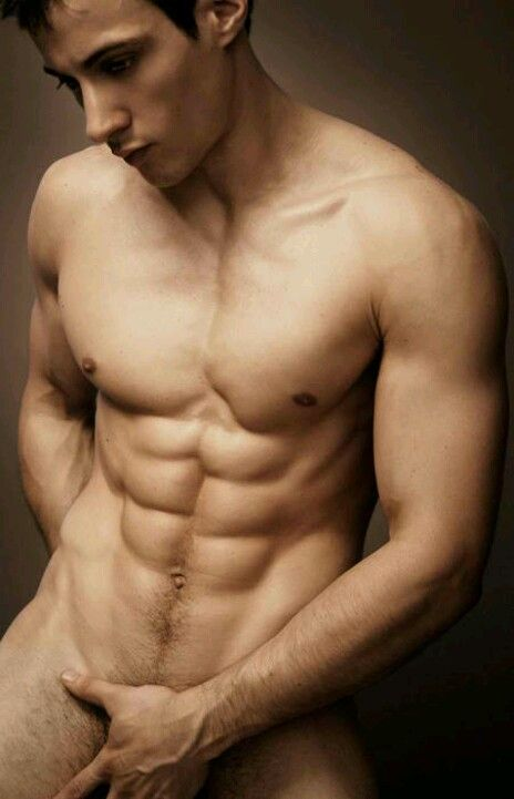 male flat abs nude